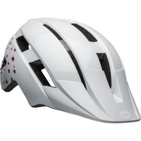 Bell Sidetrack II MIPS Helmet Kids white stars